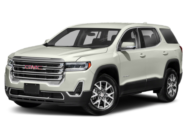 new White Frost Tricoat 2020 GMC Acadia SLT with Cocoa/Light Ash Gray Interior located in Whitesboro